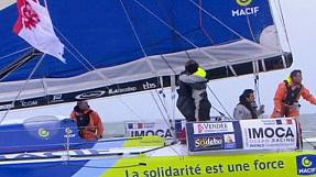 sport: Gabart wins the Vendee Globe