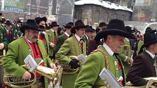 Tyrolean show in Vienna