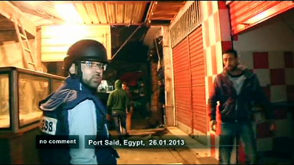 Inside troubled Port Said