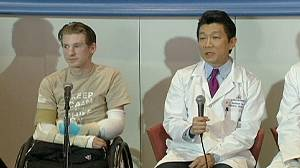 Former US soldier gets arm transplant