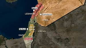 Israel said to have struck at Syrian convoy near Lebanon border