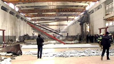 Factory explosion kills seven in Turkey