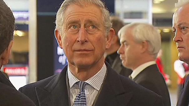 Prince Charles celebrates Tube's 150th birthday