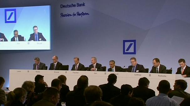 Deutsche Bank hit by costly clean up