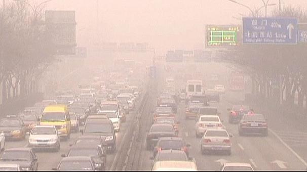 China on red alert over pollution