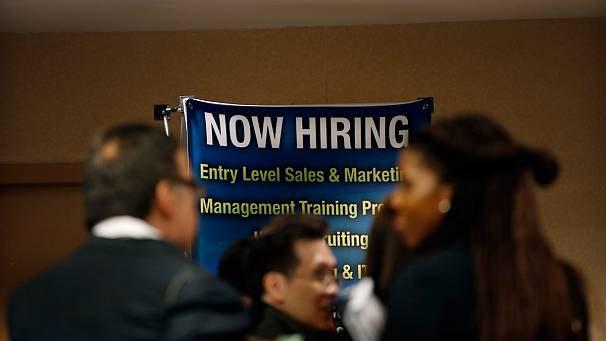 Mixed news on US jobs