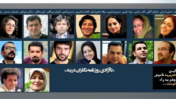 """İran'da """"Batı yanlısı"""" gazeteci avı"""