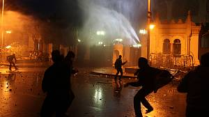 Death in Cairo after politicians renounce violence