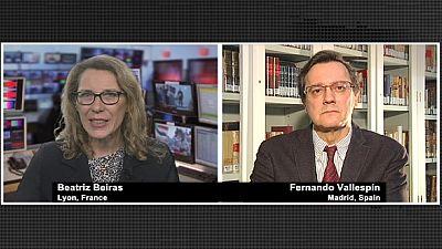 España: crisis económica y ahora, política