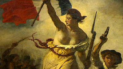 Famed Delacroix defaced at Louvre-Lens