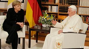 Merkel: 'utmost respect' for Pope's decision
