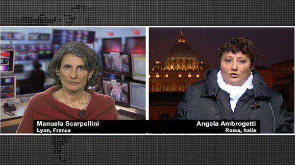 """""""La démission du pape est surprenante"""", Angela Ambrogetti, spécialiste du Vatican"""