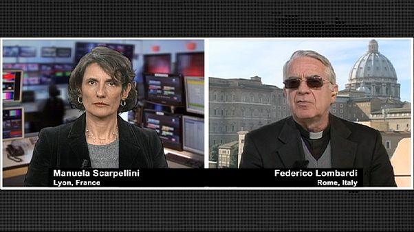 """Père Lombardi: """"Une décision courageuse qui force mon admiration"""""""