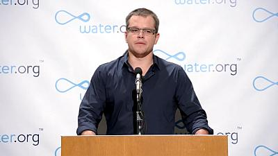 Why Matt Damon won't go to the toilet