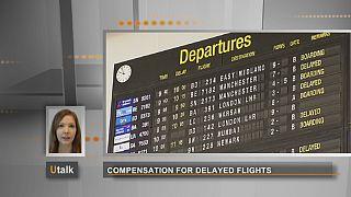 Que direitos em caso de atraso de um avião?