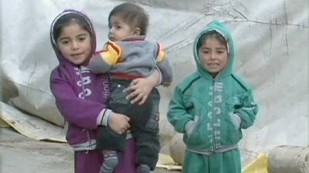 Syrische Flüchtlinge im Libanon