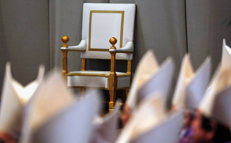Vatican: the empty chair