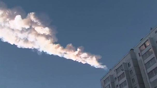 Celestial damage in central Russia as meteor explodes