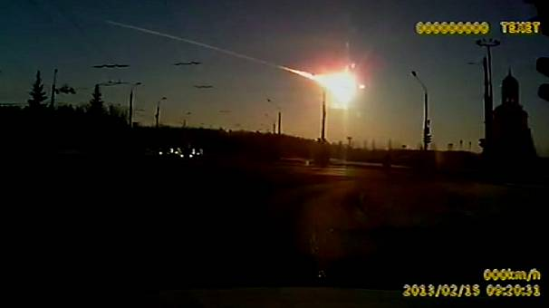Meteorite shower causes mass casualties in Russia