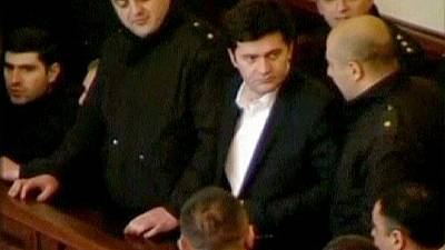 "Georgian ""political persecution"" trial begins"