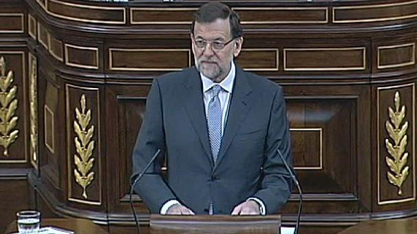 Rajoy habla de corrupción en el Congreso, pero no de Bárcenas