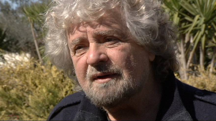 Lock, stock and one smoking Beppe Grillo