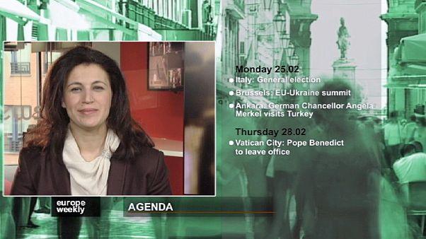 """""""Europe Weekly"""": Antevisão das eleições em Itália em destaque"""