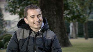 Ο παγκόσμιος πρωταθλητής του Moto GP στο Euronews