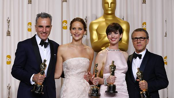 Argo wins Best Picture Oscar and Day-Lewis makes Academy Award history