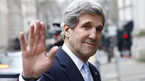 First stop London for new US Secretary of State John Kerry