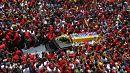 Каракас прощается с Уго Чавесом