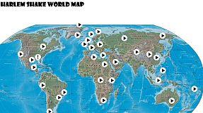 Polska, Rosja, Australia… – interaktywna mapa rozprzestrzeniania się szaleństwa Harlem Shake