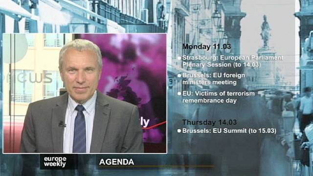 برنامج يوروب ويكلي في الاسبوع الاول من شهر آذار مارس 2013