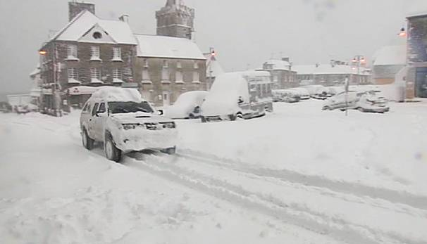 Snow Chaos In France Uk And Germany Euronews