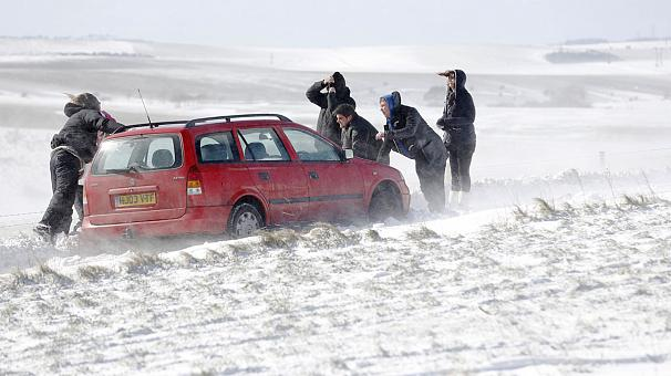 Parts of Europe still reeling from severe weather