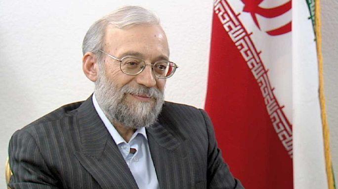 لاريجاني: الاعتراف بايران كعضو في المجتمع الدولي ضمن معاهدة حظر انتشار الاسلحة النووية
