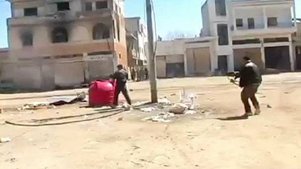 Street fighting rages in Homs