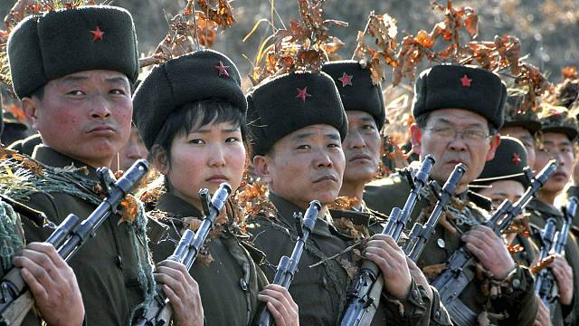 North Korea in nuclear hysterics