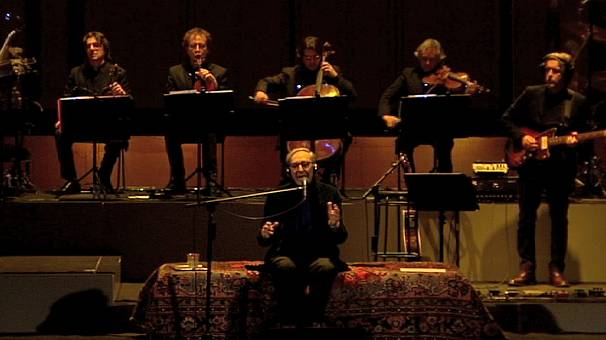 Italian 'master' Battiato hits the road