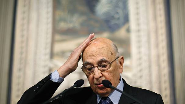 Italy: Napolitano may quit early to end political deadlock
