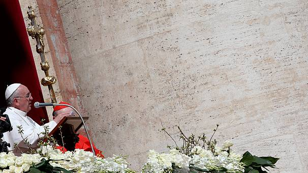"""""""Riconciliazione"""". Papa Francesco benedice la città e il mondo"""