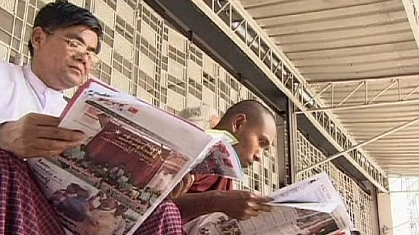 Private newspapers return to Myanmar