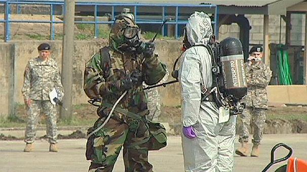 In Corea del Sud gli specialisti statunitensi per la decontaminazione chimica e biologica