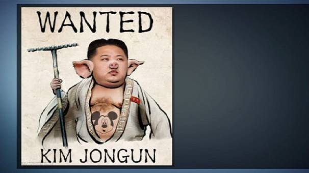 'Wanted' for $1 million: pig-faced N Korea leader Kim Jong-un