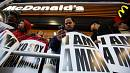Fast-food restaurant workers strike in New York City in hope of better wages