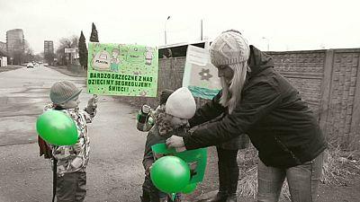 Le jardin d'enfants vert