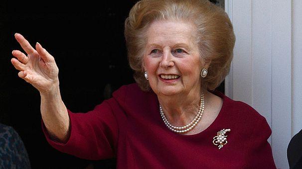 Margaret Thatcher dies of a stroke aged 87