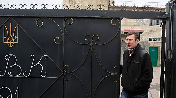 Ukraine-EU ties warmer as Lutsenko freed