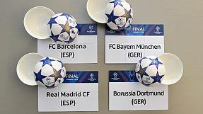 world: Bayern-Barca, Dortmund-Madrid in Champions League semi finals