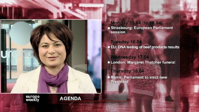 """برنامج """"يوروب ويكلي"""" للاسبوع الثاني من شهر نيسان/ ابريل"""